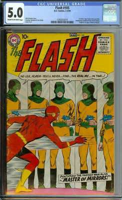 Flash #105 Cgc 5.0 Cr/ow Pages