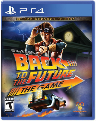 Back to the Future: The Game 30th Anniversary Edition - PlayStation 4 Brand New