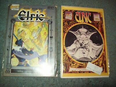 8 ELRIC - # 1 - THE ORIGINAL  & 1 THRU 7  0F  7,  The Sailor On The Seas Of Fate