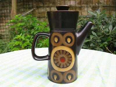 Superb Denby Arabesque, Coffee Pot, 22.5 cm high - Unused - Much Available