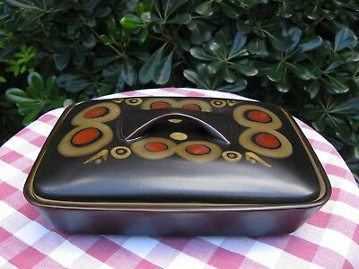 Superb Denby Arabesque, Lidded Serving Dish - Unused - Much Available