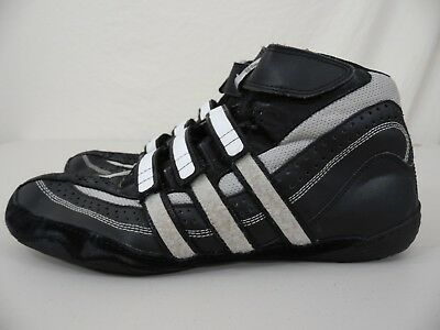 save off a4377 e59b0 ADIDAS-Mens-95-Black-Silver-White-Wrestling-Athletic.jpg