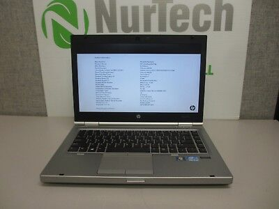"HP EliteBook 8470p 14.1"" Core i5-3360M 2.8GHz 4GB/160GB WiFi Webcam Laptop + AC"
