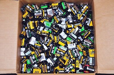1000 Bulk Lot  35mm Film Canisters  Excellent condition  Fuji  Kodak  Agfa etc.