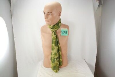 Ww2 Us Paratrooper Camouflage Scarf Cut From Original Material