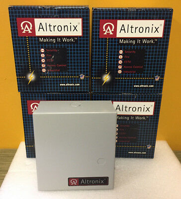 Altronix AL175UL (Lot of 4) Switching Power Supply / Battery Charger. New in Box