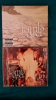 Cd, Set Of 2, Lamb Of God, Resolution And As The Palaces Burn