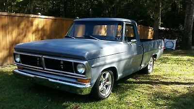 1972 Ford F-100  1972 ford f100 LS Swap / Crown Vic suspension