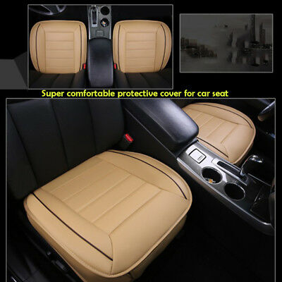 Monolithic Protector Car Seat Cover  Breathable Pad Chair Cushion PU Leather