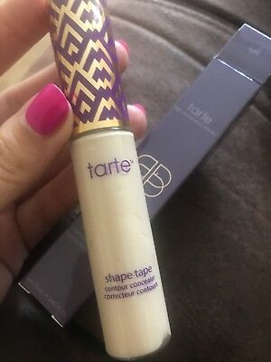 NEW tarte shape tape concealer 10ml shade - light UK SELLER