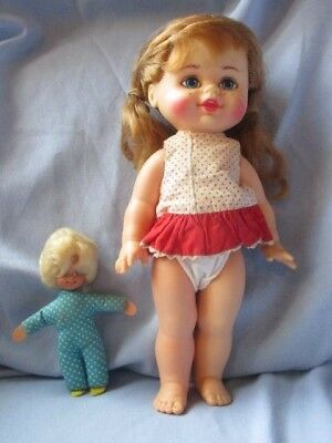 Vintage Mattel BUFFY and MRS. BEASLEY doll 1960's Family Affair TV series