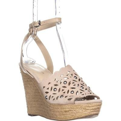 92b8f60268c Marc Fisher Hata Ankle Strap Wedge Sandals