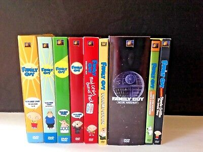 Lot Family Guy Box Set DVD Collection Seasons 1,2,3,4,5,6 & 7 Plus Blue Harvest
