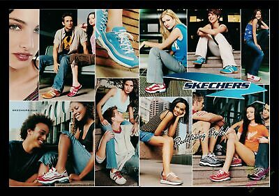 2003 Print Ad~2 Page~Skechers~Shoes~Models~Cool to Frame~K300