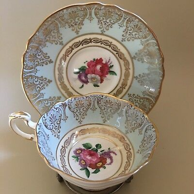 Paragon by Appointment to HM The Queen & HM Queen Mary Tea Cup and Saucer Set