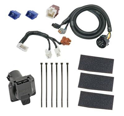 7-way rv trailer wiring harness kit for 05-19 nissan frontier 05-
