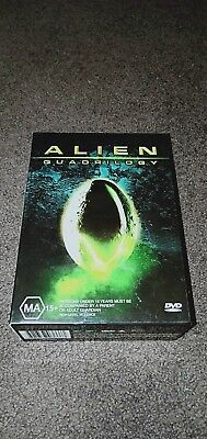 Alien Quadrilogy Collection - 1, 2, 3 & 4 - Sigourney Weaver DVD LIKE NEW