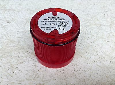 Siemens 8WD4 420-5AB Rouge Stable Pile Lumière 8WD4420-5AB 8WD44205AB ( Tsc )