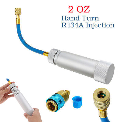 Air Conditioning Filler Injection Oil Filling Tool Adapter Oil Dye Injector