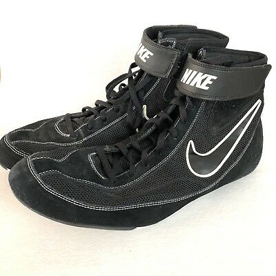 hot sale online 81f05 37ce5 Nike Speed Sweep VII Wrestling Shoes Size 13 Black White Mens 366683-001  Mens