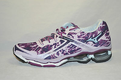 MIZUNO WAVE CREATION 15 womens running shoes Size 6 NEW PURPLE MINT