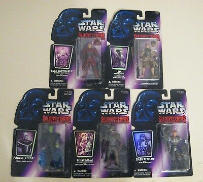 Star Wars Shadows Of The Empire Action Figures Complete Set 1996 Kenner