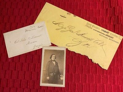 Confederate Founding Father Howell Cobb Lot