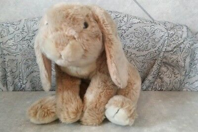 Animal Alley Bunny Plush 12 Realistic Rabbit Cottontail Soft
