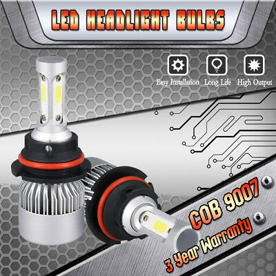 9007 HB5 LED Headlight Bulbs High Low Beam Kit for 1996-2007 Dodge Grand Caravan