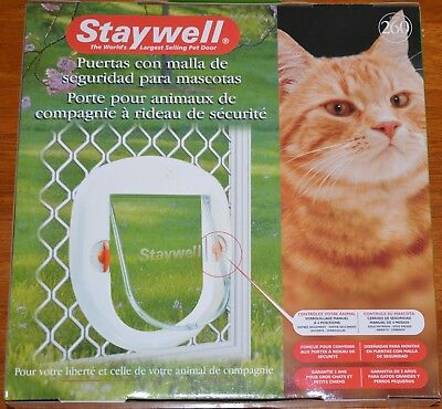 Staywell Petsafe dog cat security screen door