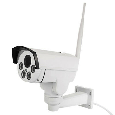 3G 4G Wireless IP Camera HD 1080P PTZ 4X Optical Zoom Outdoor Waterproof IR CCTV