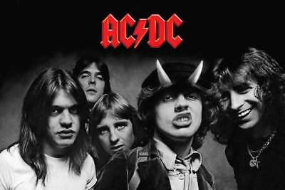 AC/DC - HIGHWAY TO HELL POSTER - 36 In x 24 In Wrapped