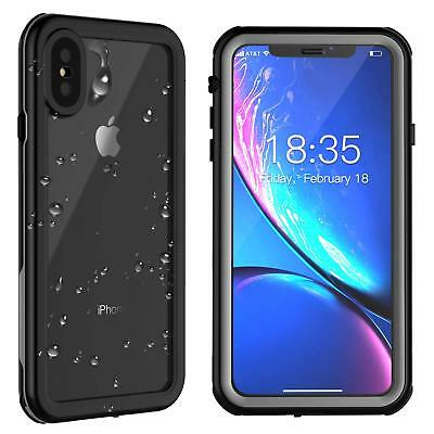 For iphone X Xs Max Waterproof Case Cover Underwater Shockproof Screen Protector