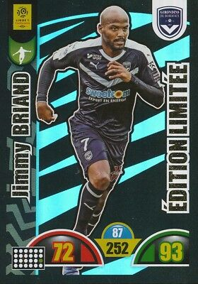 Jimmy Briand Girondins Bordeaux Limited Edition Card Adrenalyn 2019 Panini