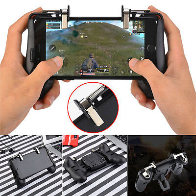 Neu Mobile Handle Gamepad Gaming Trigger Shooter Controller PUBG Für Android IOS