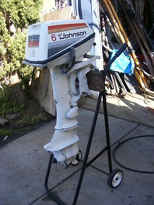 6 Hp Johnson Outboard Motor