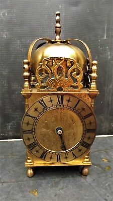 Large  Lantern Clock Elliot Movement 8 Day