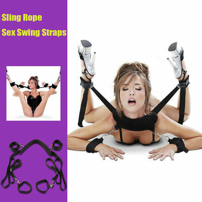 Sling Rope Sex Swing Straps Adult Couples Sexual Taste for SM Party Play Game