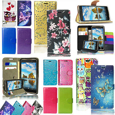 For Huawei P8 Lite 2017 Magnetic PU Leather Flip Wallet Stand Case Cover