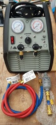 Javac Xtr-Ultra Liquid And Vapour Refrigerant Recovery Unit.