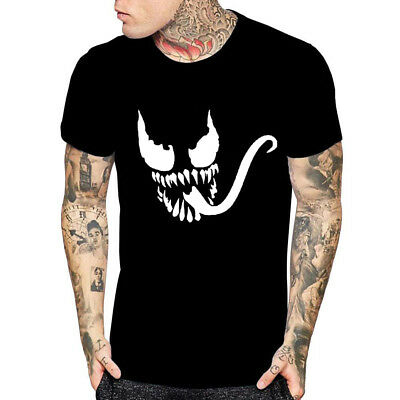 Halloween T-Shirt Venom Face Movie Inspired T-Shirt Mens Womens Youth Kids Tees