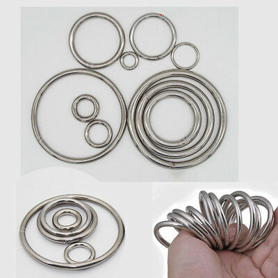 Seamless Metal O Ring Welded Round 304 Stainless Steel 20 30 40 50 60 80 100mm