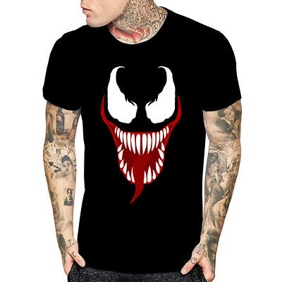 Venom Face Movie Inspired T Shirt Halloween Gift For Tees Mens Womens Youth Kids