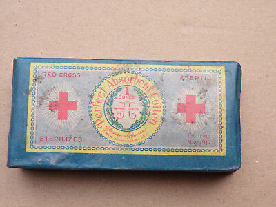Boite Coton Red Cross / Date Mai 1917 / Neuf / Us Army  /  / Wwi / 1° Guerre