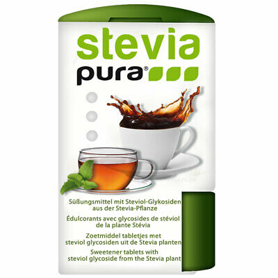300 Stevia Tabs Süßstofftabletten zuckerfrei 18g im Spender - Made in Germany