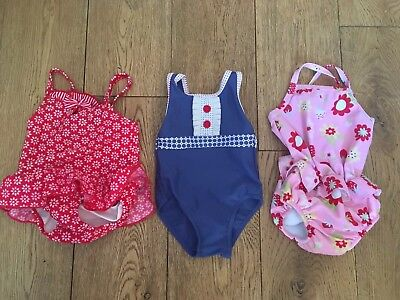 Baby Girls Swimming Costumes 3-6 Mths