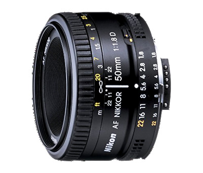 Nikon 2137 AF Nikkor 50mm F/1.8 D FX Full Frame Prime Lens for Nikon DSLR Camera