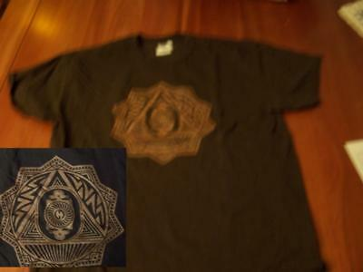 Grateful Dead T-Shirt Jerry May 1977 Tours XL Original Brown Pre-Owmed Skull