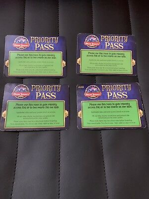 4x 1.2 Alton Towers Fast Track Priority Pass 2 People (With 1 Priority Pass)
