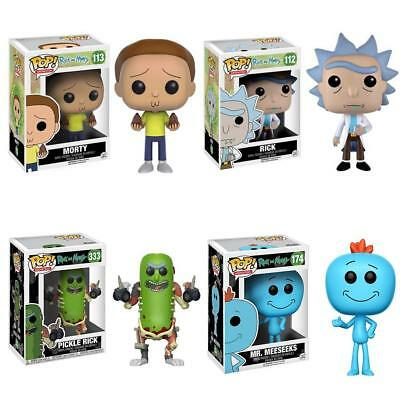Funko Pop! Rick Et Morty Mr.Meeseeks Action Figurine Jouet De Collection Cadeau